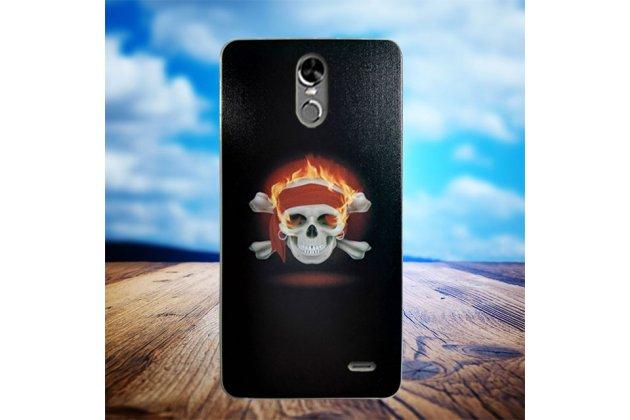 Фирменная уникальная задняя панель-крышка-накладка из тончайшего силикона для  Ulefone Tiger с безумно красивым рисунком тематика Пираты Карибского Моря