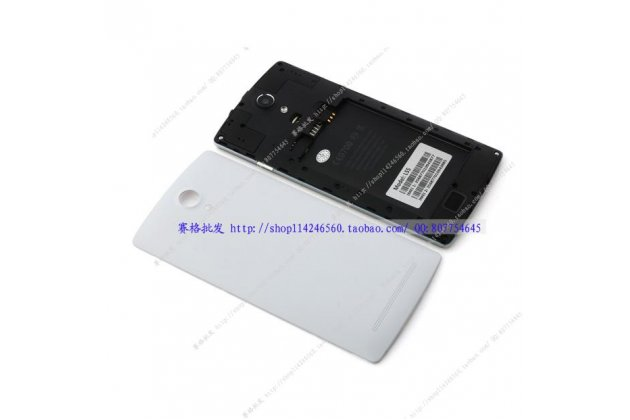 Родная оригинальная задняя крышка-панель которая шла в комплекте для Ulefone Be Pro белая