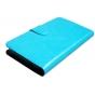Фирменный чехол-книжка из качественной водоотталкивающей импортной кожи на жёсткой металлической основе для Ul..