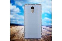 Фирменная ультра-тонкая полимерная из мягкого качественного силикона задняя панель-чехол-накладка для UMI Plus E белая