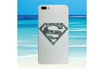Фирменная роскошная задняя панель-чехол-накладка  из мягкого силикона с безумно красивым расписным 3D рисунком на Umidigi Z1 / Umidigi Z1 Pro тематика Superman