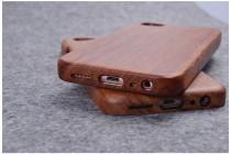 Фирменная оригинальная деревянная из натурального бамбука задняя панель-крышка-накладка для Vivo X9 Plus / Vivo X9 Plus 128Gb / Vivo X9 Plus 64Gb иероглиф