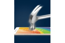 Фирменное защитное закалённое противоударное стекло для телефона Vivo X9 Plus / Vivo X9 Plus 128Gb / Vivo X9 Plus 64Gb из качественного японского материала премиум-класса с олеофобным покрытием белый