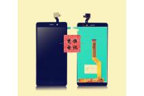 Фирменный LCD-ЖК-сенсорный дисплей-экран-стекло с тачскрином на телефон Wileyfox Spark  черный + гарантия