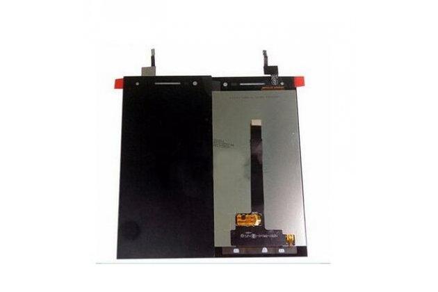 Фирменный LCD-ЖК-сенсорный дисплей-экран-стекло в сборе с тачскрином на телефон Wileyfox Storm (Вилейфокс Шторм) черный + гарантия