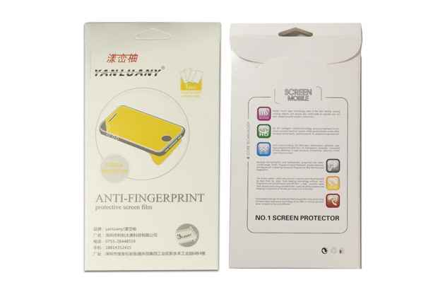Фирменная оригинальная защитная пленка для телефона Wileyfox Swift 2 Plus глянцевая