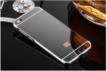 Фирменная металлическая задняя панель-крышка-накладка из тончайшего облегченного авиационного алюминия для Xiaomi Mi 5C черная