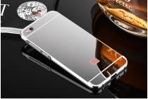Фирменная металлическая задняя панель-крышка-накладка из тончайшего облегченного авиационного алюминия для Xiaomi Mi 5C серебристая
