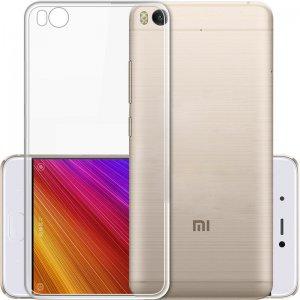 Фирменная ультра-тонкая полимерная из мягкого качественного силикона задняя панель-чехол-накладка для Xiaomi Mi 5C прозрачная
