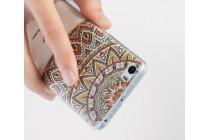 """Фирменная роскошная задняя панель-чехол-накладка из мягкого силикона с объемным  3D изображением  на Xiaomi Mi 6 с безумно красивым рисунком """"Узоры"""""""