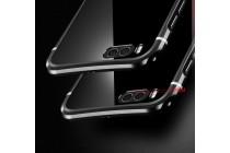 Фирменная металлическая задняя панель-крышка-накладка из тончайшего облегченного авиационного алюминия для Xiaomi Mi 6 черная