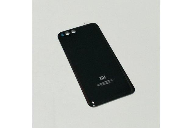 Родная оригинальная задняя крышка-панель которая шла в комплекте для Xiaomi Mi 6 черная