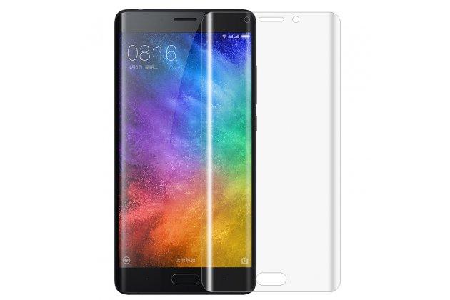 """Фирменная оригинальная защитная пленка для телефона Xiaomi Mi Note 2"""" глянцевая"""