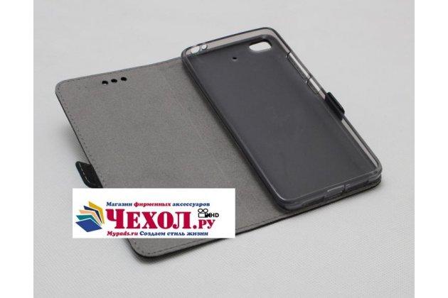 Фирменный оригинальный подлинный чехол с логотипом для Xiaomi Mi 5S / Xiaomi Mi5s 5.15 из натуральной кожи крокодила коричневый