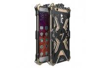Противоударный металлический чехол-бампер из цельного куска металла с усиленной защитой углов и необычным экстремальным дизайном  для  Xiaomi Mi 5S / Xiaomi Mi5s 5.15 черного цвета