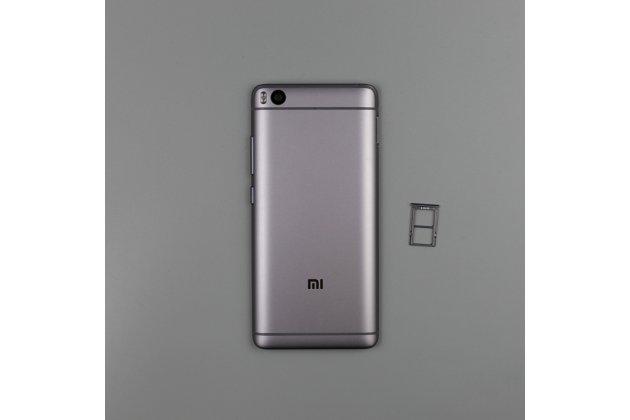 Родная оригинальная задняя крышка-панель которая шла в комплекте для Xiaomi Mi 5S / Xiaomi Mi5s 5.15 серая