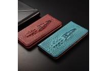 Фирменный роскошный эксклюзивный чехол с объёмным 3D изображением кожи крокодила цвет красное вино для Xiaomi Mi 5S / Xiaomi Mi5s 5.15  Только в нашем магазине. Количество ограничено