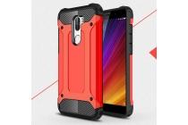 """Противоударный усиленный ударопрочный фирменный чехол-бампер-пенал для Xiaomi Mi5s Plus"""" красный"""