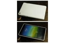 Фирменная ультра-тонкая полимерная из мягкого качественного силикона задняя панель-чехол-накладка для Xiaomi Mipad 2 белая