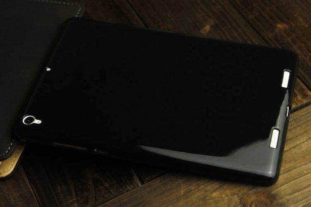 Фирменная ультра-тонкая полимерная из мягкого качественного силикона задняя панель-чехол-накладка для Xiaomi Mipad 2/3 черная