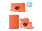 Чехол для планшета Xiaomi Mipad 2/3/ MiPad 2 Windows Edition поворотный роторный оборотный оранжевый кожаный..