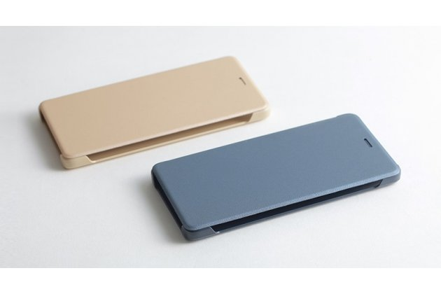Фирменный оригинальный подлинный чехол с логотипом для Xiaomi Redmi 4 2GB 16Gb/ Android 6.0 / 1280:720 / 5.0 / золотой