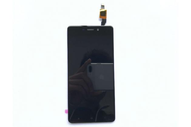 Фирменный LCD-ЖК-сенсорный дисплей-экран-стекло с тачскрином на телефон Xiaomi Redmi 4 2GB 16Gb/ Android 6.0 / 1280:720 / 5.0 / черный + гарантия
