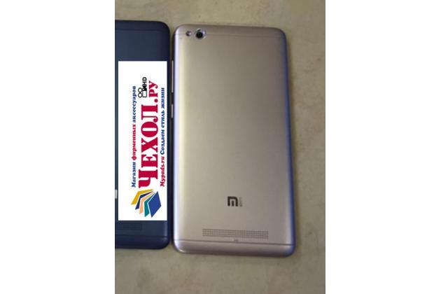 Родная оригинальная задняя крышка-панель которая шла в комплекте для Xiaomi Redmi 4A 2Gb 16Gb 5.0 золотая