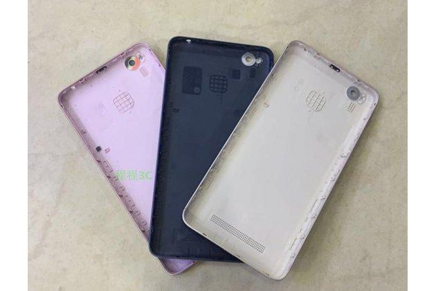 Родная оригинальная задняя крышка-панель которая шла в комплекте для Xiaomi Redmi 4A 2Gb 16Gb 5.0 черная