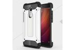 Противоударный усиленный ударопрочный фирменный чехол-бампер-пенал для Xiaomi Redmi Note 4X белый