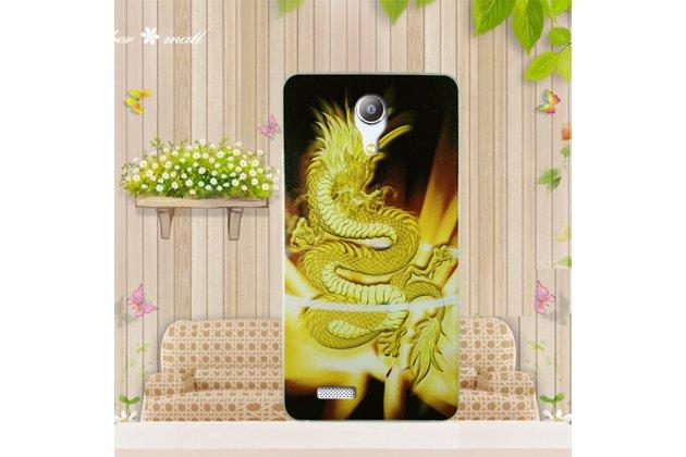 Фирменная ультра-тонкая полимерная из мягкого качественного силикона задняя панель-чехол-накладка для Zopo Speed 7 тематика Китайский Дракон
