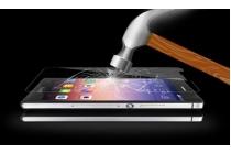 Фирменное защитное закалённое противоударное стекло премиум-класса из качественного японского материала с олеофобным покрытием для телефона ZTE Blade L110