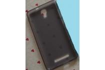 Фирменная ультра-тонкая полимерная из мягкого качественного силикона задняя панель-чехол-накладка для ZTE Blade L110 черная
