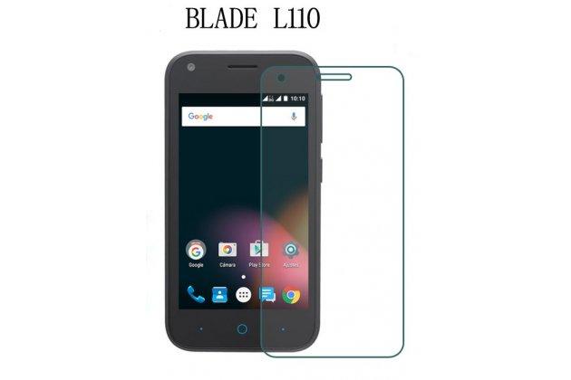Фирменная оригинальная защитная пленка для телефона ZTE Blade L110 глянцевая