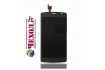 Фирменный LCD-ЖК-сенсорный дисплей-экран-стекло с тачскрином на телефон ZTE Blade L5 Plus / ZTE Blade L5 черный + гарантия