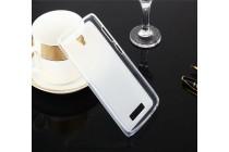Фирменная ультра-тонкая полимерная из мягкого качественного силикона задняя панель-чехол-накладка для ZTE Blade L5 Plus / ZTE Blade L5  прозрачная