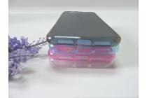 Фирменная ультра-тонкая полимерная из мягкого качественного силикона задняя панель-чехол-накладка для ZTE Blade Z10 5.2 серая