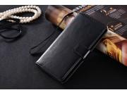 Фирменный чехол-книжка из качественной импортной кожи с подставкой застёжкой и визитницей для  ZTE Nubia M2 li..