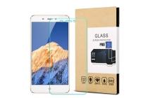Фирменное защитное закалённое противоударное стекло премиум-класса из качественного японского материала с олеофобным покрытием для телефона ZTE Nubia N1