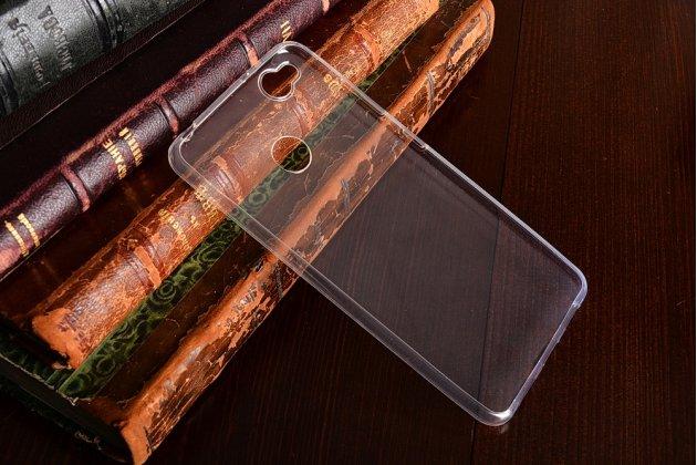 Фирменная ультра-тонкая полимерная из мягкого качественного силикона задняя панель-чехол-накладка для ZTE Nubia Z11 mini S 5.2 прозрачная