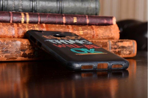 """Фирменная роскошная задняя панель-чехол-накладка из мягкого силикона с объемным  3D изображением  на ZTE Nubia Z11 mini S 5.2  с безумно красивым рисунком тематика """"Все будет Хорошо"""""""