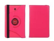 Чехол для планшета Dell Venue 8 android 3830 поворотный роторный оборотный красный кожаный..