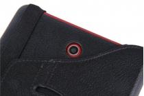 Чехол для планшета Чехлы и прочее для Dell Venue 8 android 3830 поворотный роторный оборотный черный кожаный