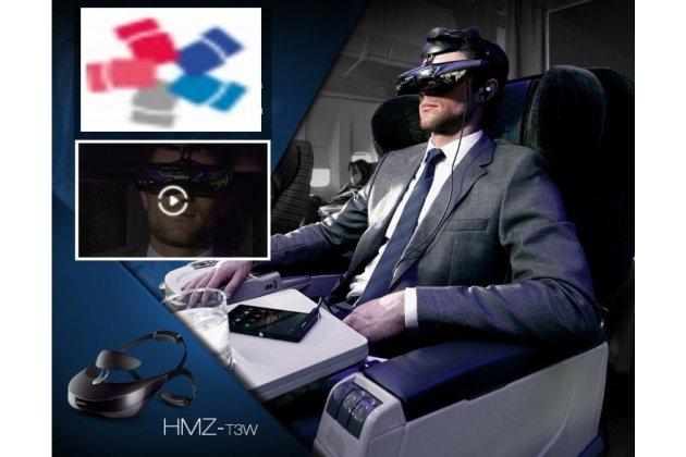 Фирменный оригинальный Шлем Виртуальной Реальности/ 3D-VR очки Sony HMZ-T3W для компьютеров и консолей