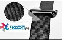 Фирменный сменный тканевый ремешок для умных смарт-часов Apple Watch Series 2 38/42mm  из ультра-прочного плотного качественного нейлона с дизайном «Спорт»