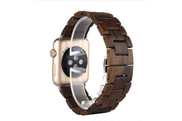 деревянный ремешок цепь для Apple Watch 42mm