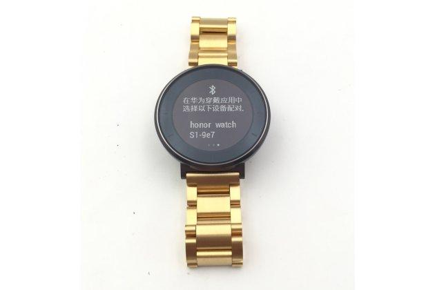 Фирменный сменный металлический ремешок для умных смарт-часов Huawei s1 Watch из нержавеющей стали с магнитным замком-застежкой