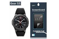 Фирменная оригинальная защитная пленка для умных смарт-часов Samsung Gear S3 Classic / Frontier SM-R760 / R770 глянцевая
