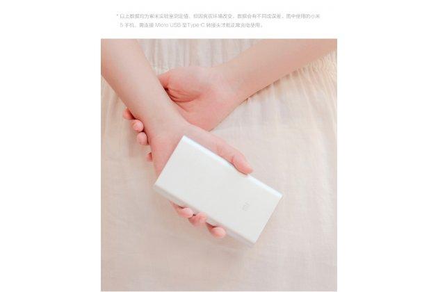 Фирменное оригинальное внешнее портативное зарядное устройство/ аккумулятор Xiaomi Mi Power Bank 2 (Ксяоми Повер Банк 2) 10000 алюминиевый + Гарантия