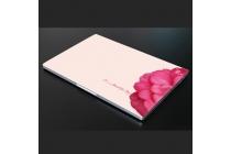 Фирменная оригинальная защитная пленка-наклейка с 3d рисунком на твёрдой основе, ударопрочная, которая не увеличивает ноутбук в размерах для Xiaomi Mi Notebook Air 12.5 тематика Алый Цветок